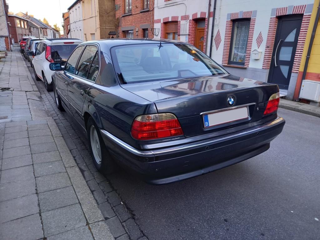 BMW 728i de 1996, Fjordgrau et boîte manuelle. 20210214