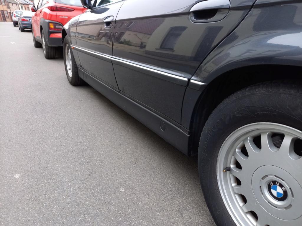 BMW 728i de 1996, Fjordgrau et boîte manuelle. 20210312