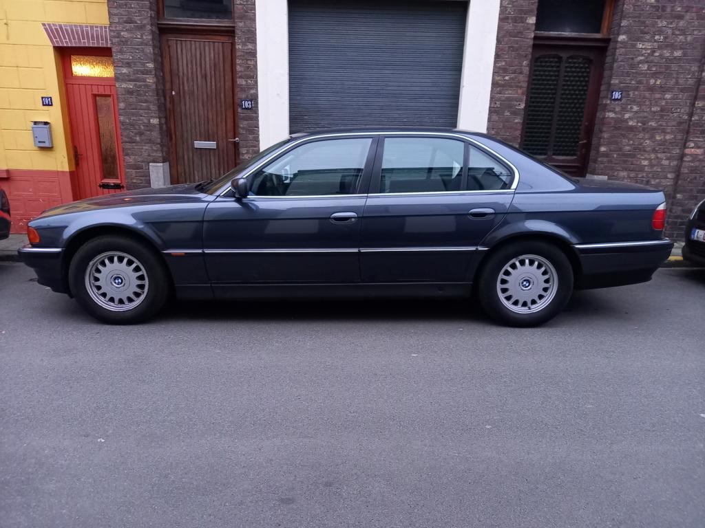 BMW 728i de 1996, Fjordgrau et boîte manuelle. 20210314