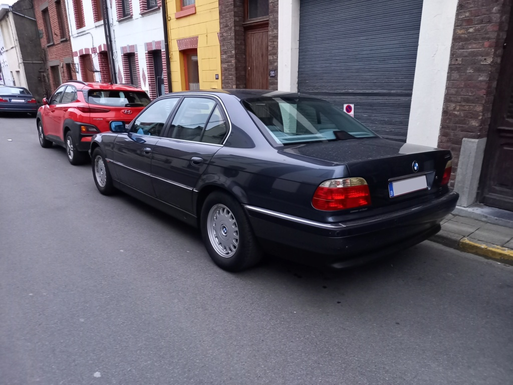 BMW 728i de 1996, Fjordgrau et boîte manuelle. 20210315