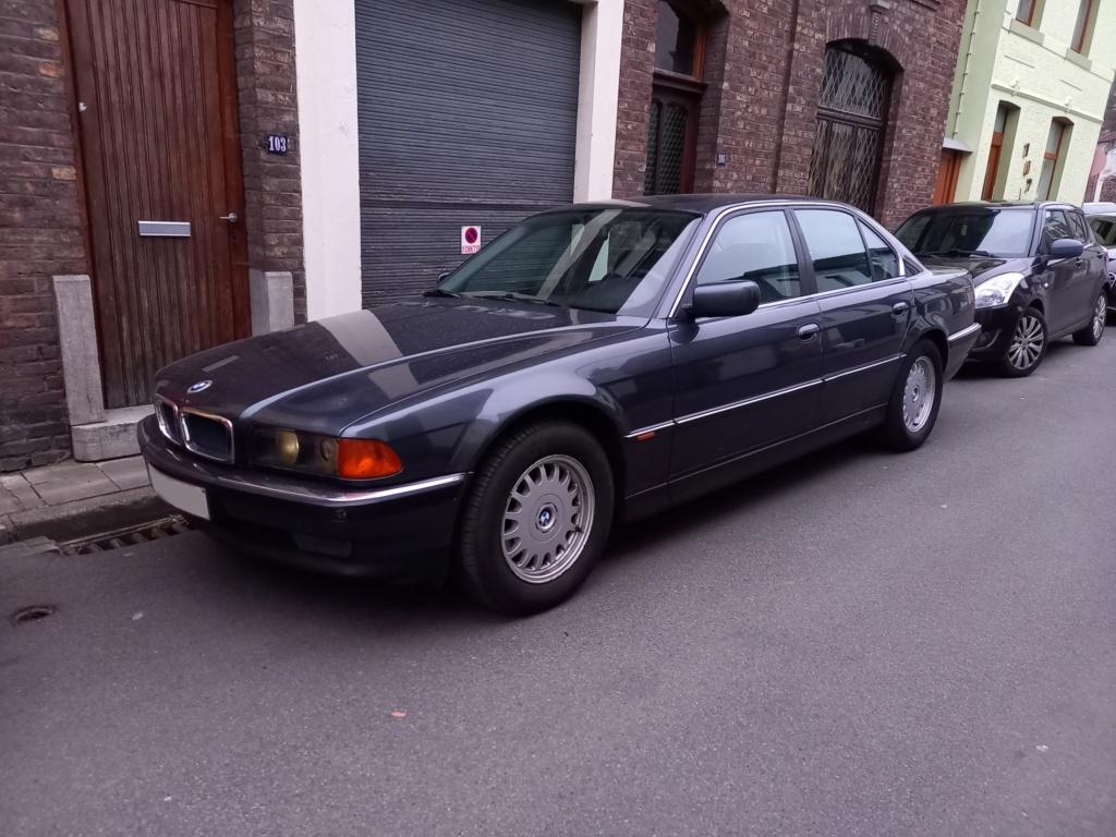 BMW 728i de 1996, Fjordgrau et boîte manuelle. 20210316