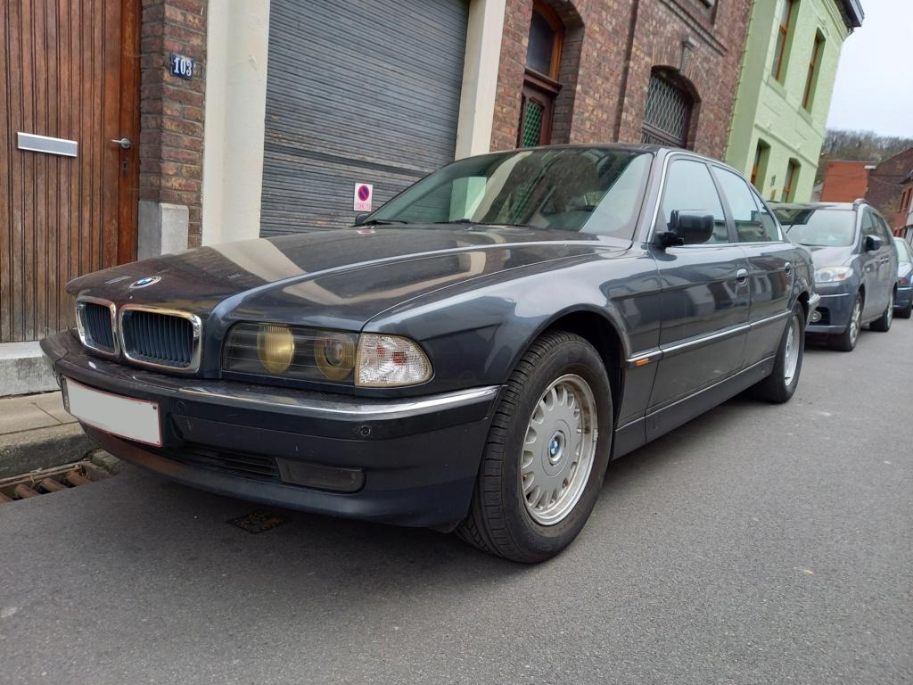 BMW 728i de 1996, Fjordgrau et boîte manuelle. 20210412