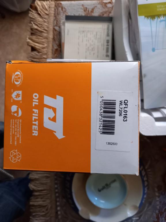 Filtre à huile pour S3 TD ou S4 2.5/2.8 CRD 20210419