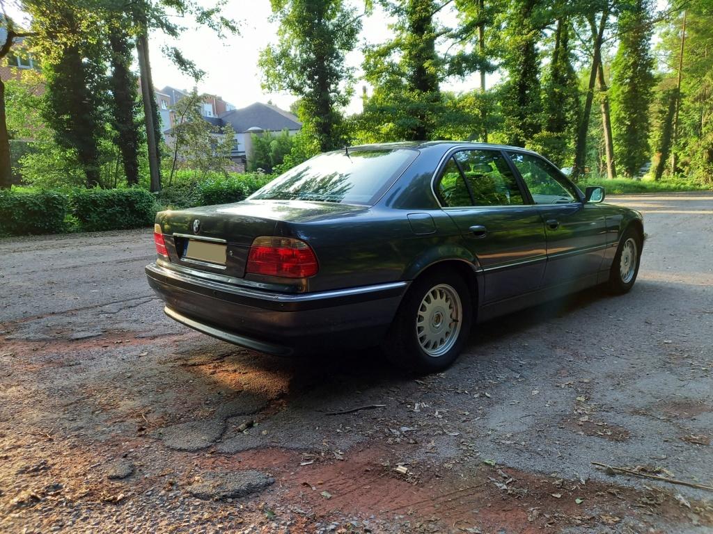BMW 728i de 1996, Fjordgrau et boîte manuelle. - Page 2 20210713