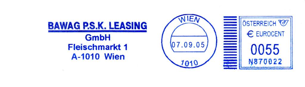 Absenderfreistempel Östereich mit Ortsstempel im Deutschland-Look Img_0029