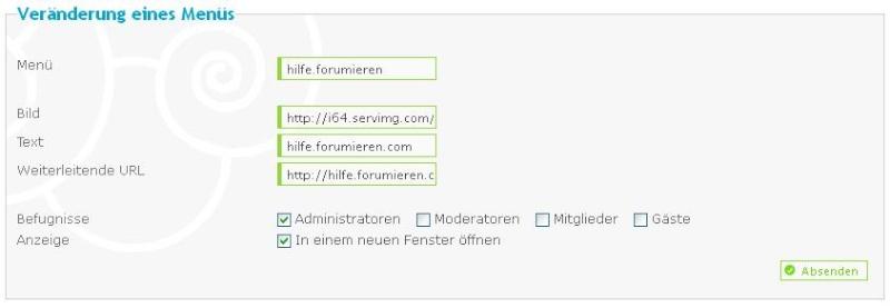 Neue Seite einfügen/Link auf eine andere Seite Unbena10