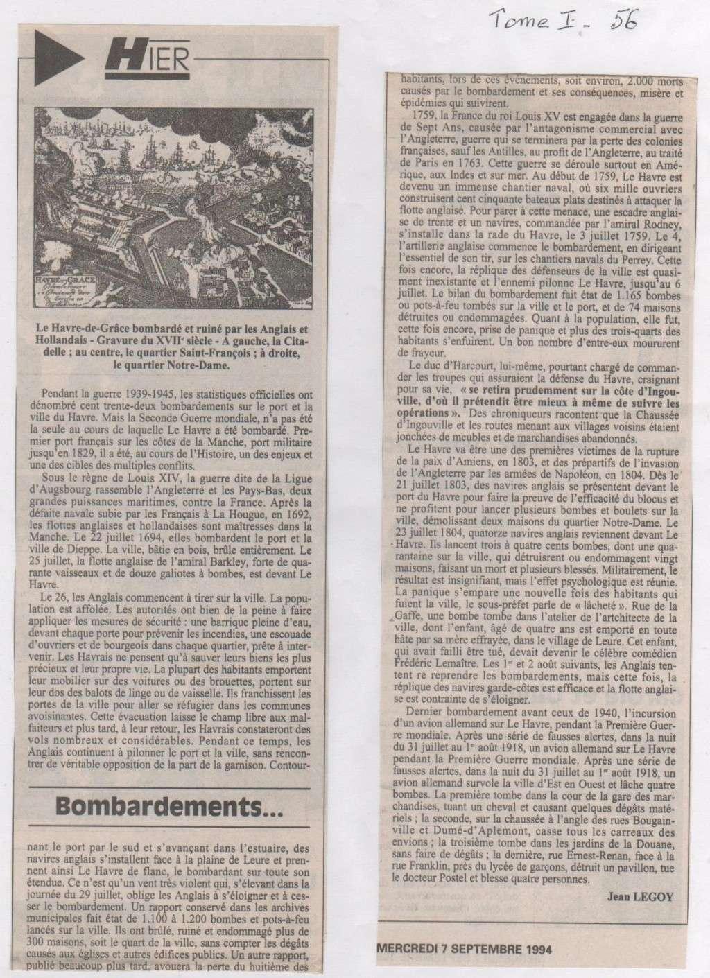 Hier, Le Havre par Jean LEGOY - Page 3 Bombar10