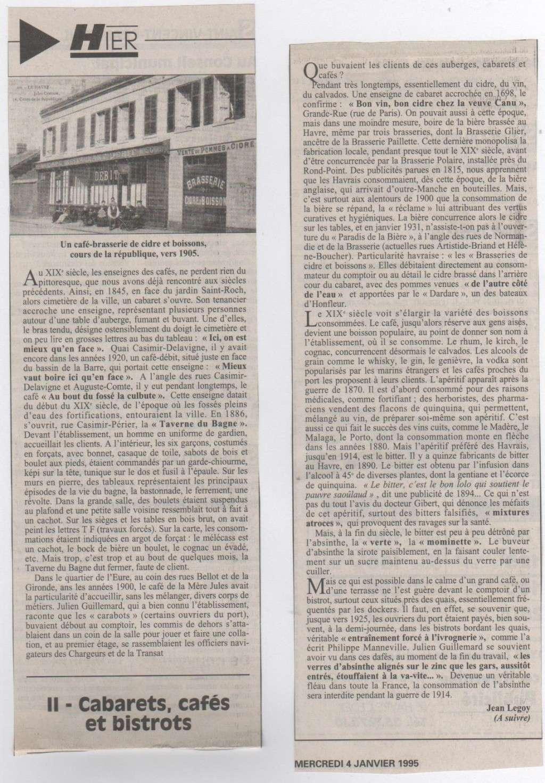 Hier, Le Havre par Jean LEGOY - Page 3 Cabare11