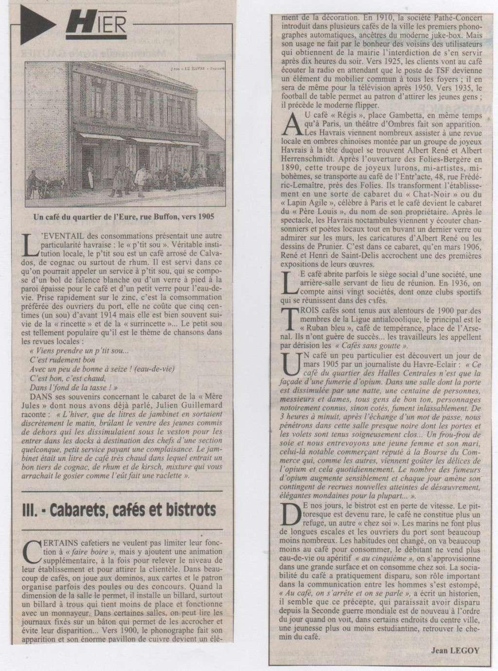 Hier, Le Havre par Jean LEGOY - Page 3 Cabare12