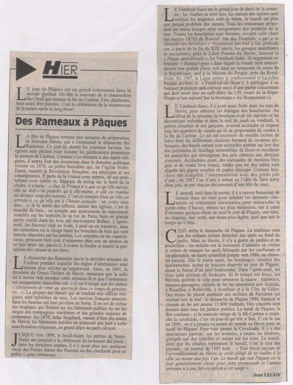 bléville - Hier, Le Havre par Jean LEGOY - Page 4 Des_ra10
