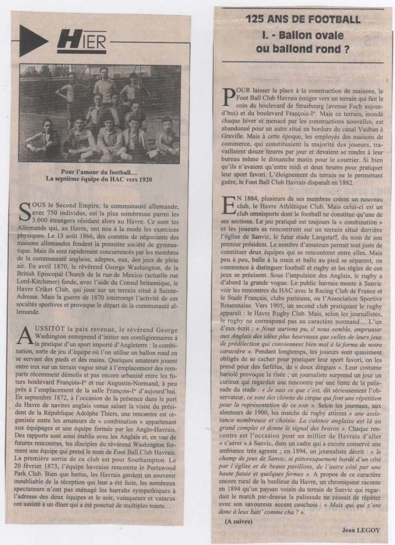 Hier, Le Havre par Jean LEGOY - Page 3 Footba10