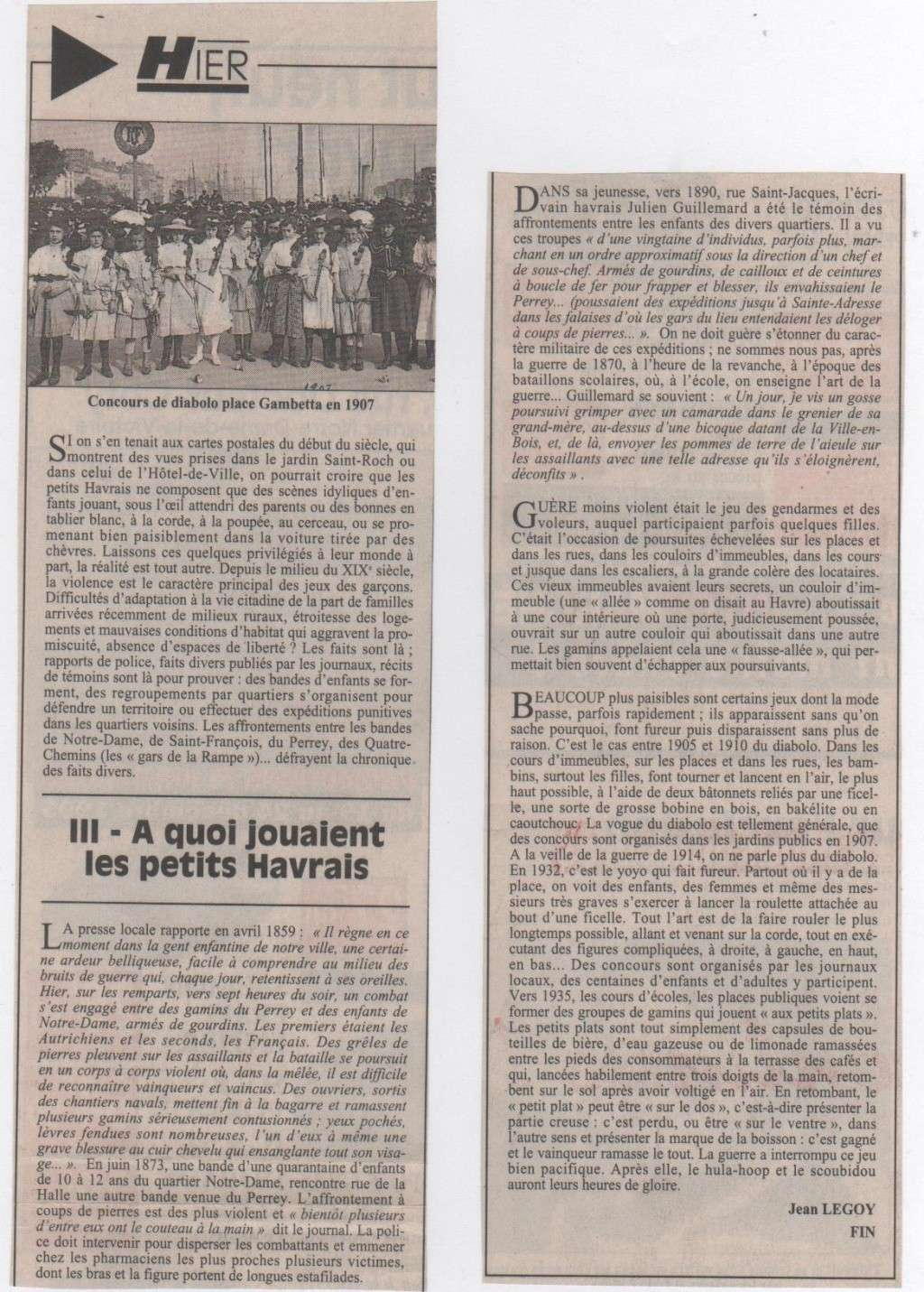 Hier, Le Havre par Jean LEGOY - Page 2 Jean_l62
