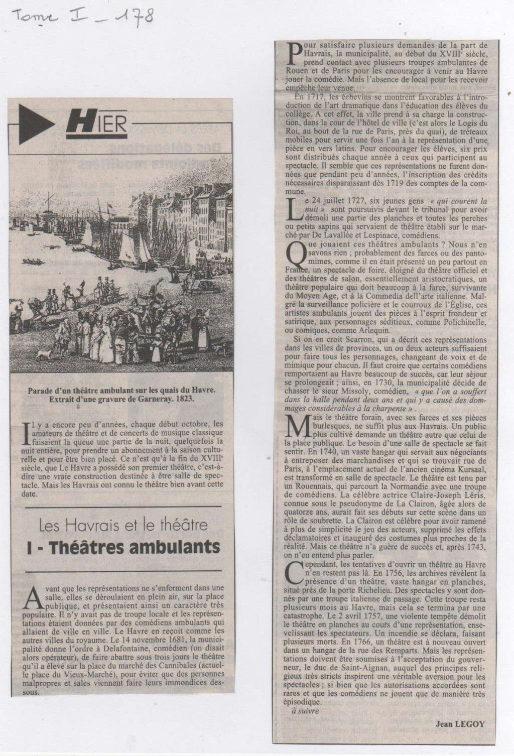 Cinémas et Théâtres de Jean LEGOY Jean_l67