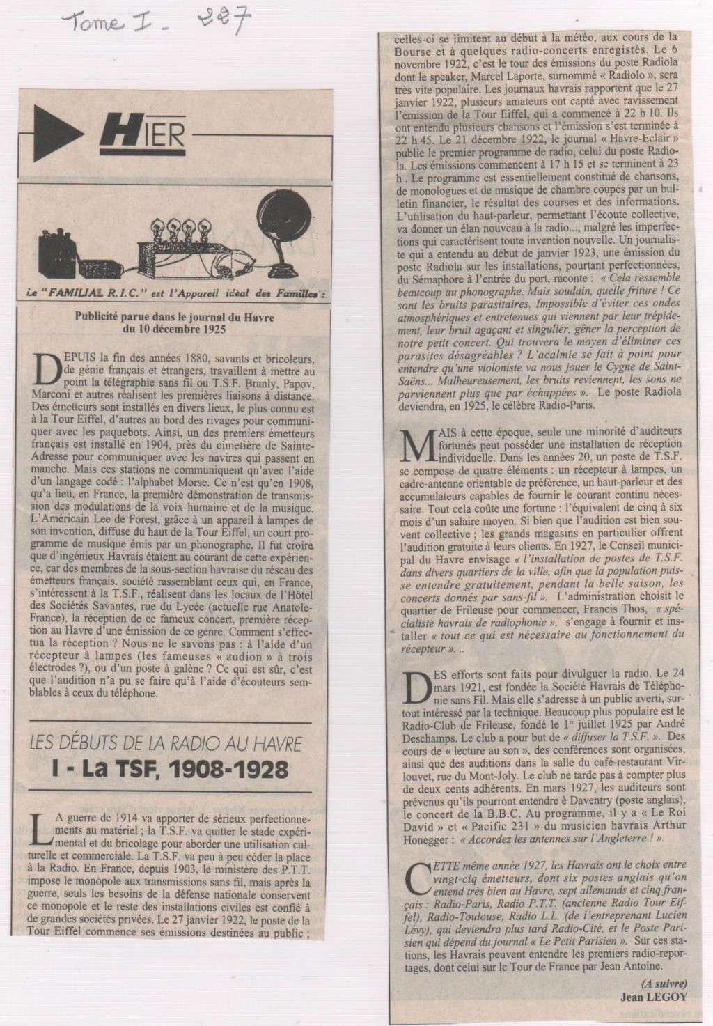 Hier, Le Havre par Jean LEGOY - Page 2 La_rad10