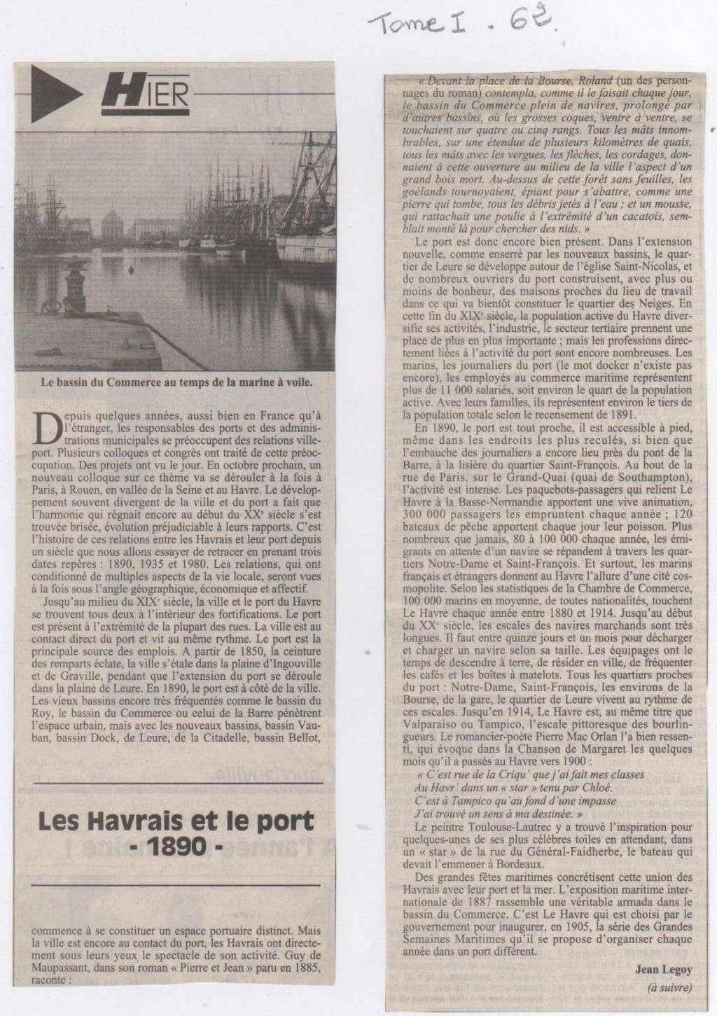 Hier, Le Havre par Jean LEGOY - Page 2 Les_ha10
