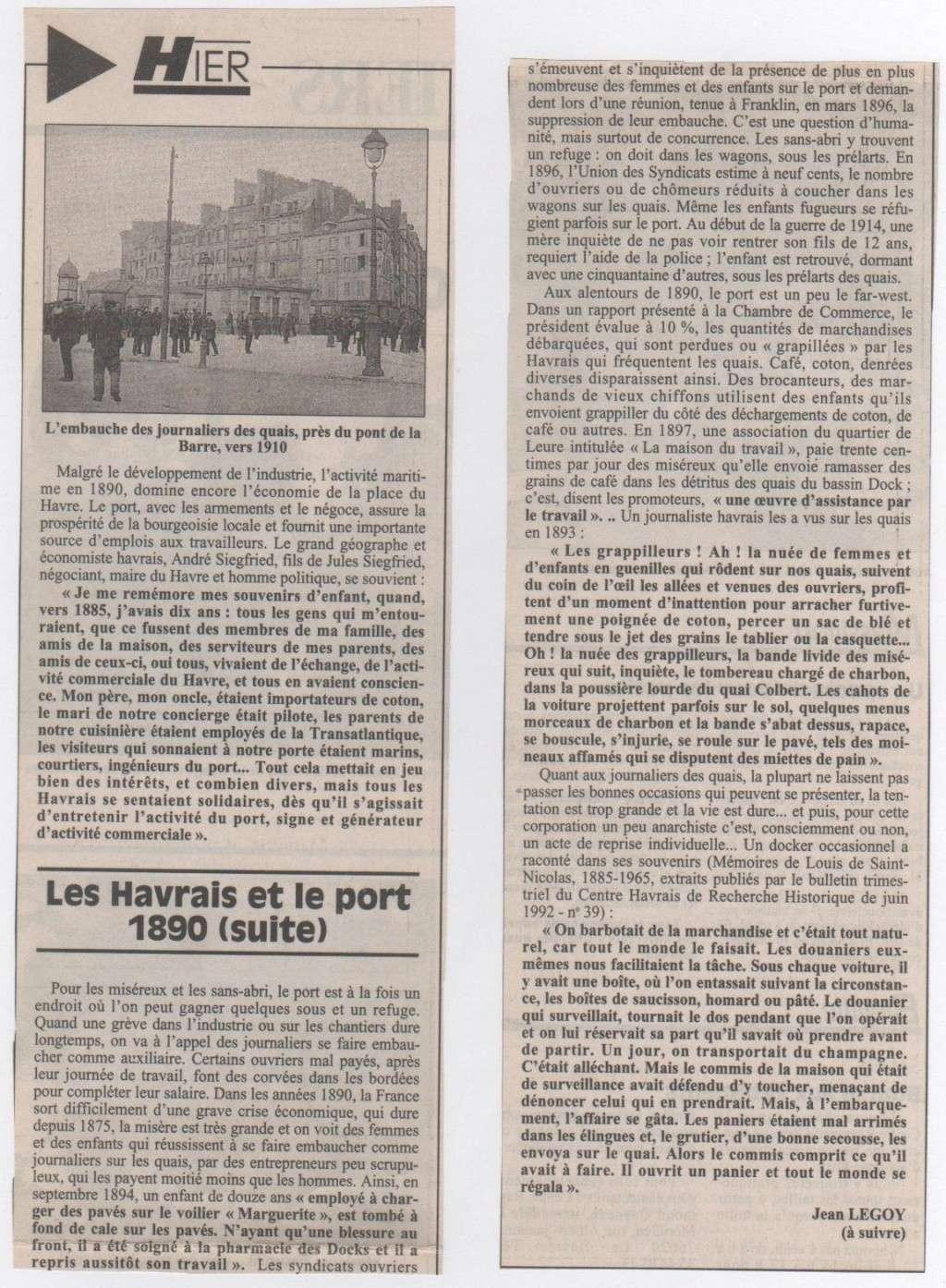 Hier, Le Havre par Jean LEGOY - Page 3 Les_ha11