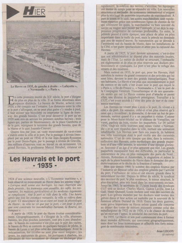Hier, Le Havre par Jean LEGOY - Page 3 Les_ha12
