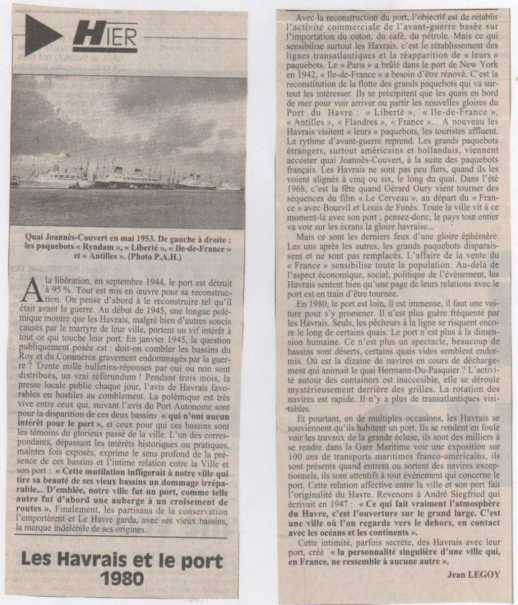 Hier, Le Havre par Jean LEGOY - Page 3 Les_ha13