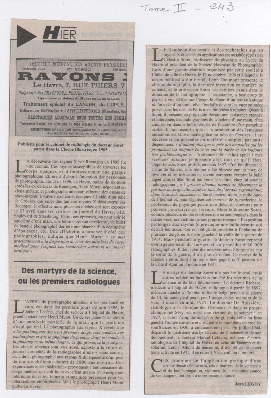 Hier, Le Havre par Jean LEGOY - Page 3 Rayons10