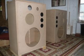Rebirth of the legendary JBL 4345 studio monitor. P1080311