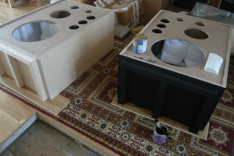Rebirth of the legendary JBL 4345 studio monitor. P1080611