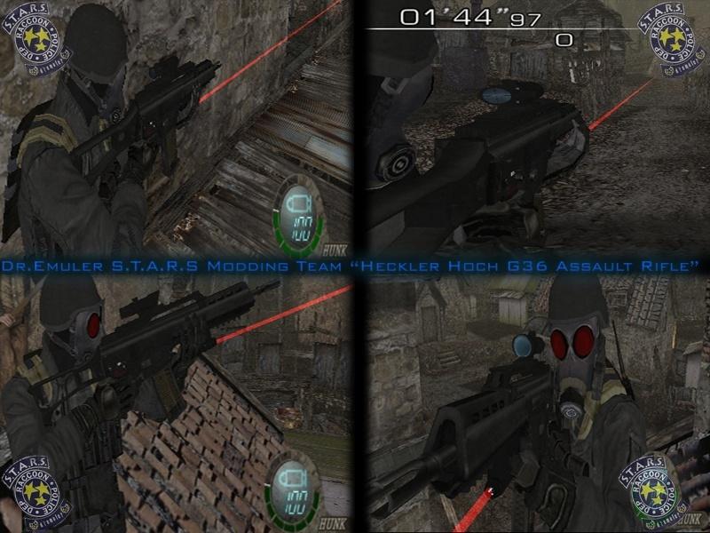 Rifle de asalto G36 H&K Ingame10