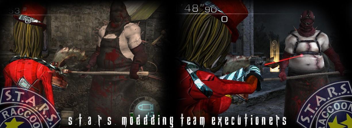 RE5: Majini Executioner [BLACK-RED] Render13