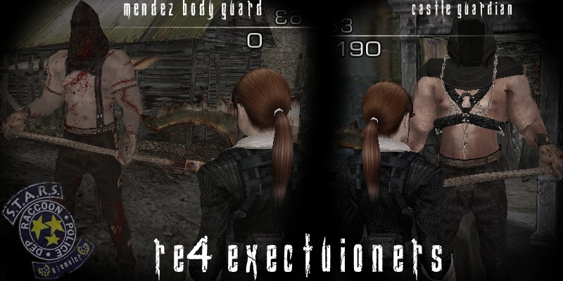 RE4 Executioners Mendez Bodyguard & Guardian of Castle Render15