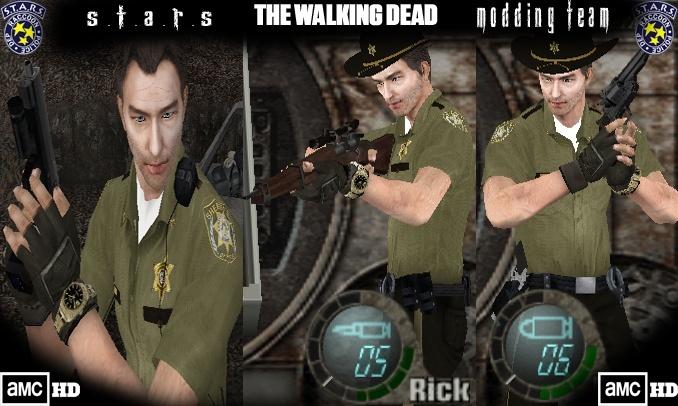 The Walking Dead Rick Grimes - Juega con el poli de Walking Dead Render17