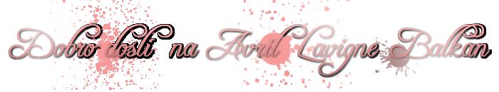 Avril Lavigne Balkan Avbw11