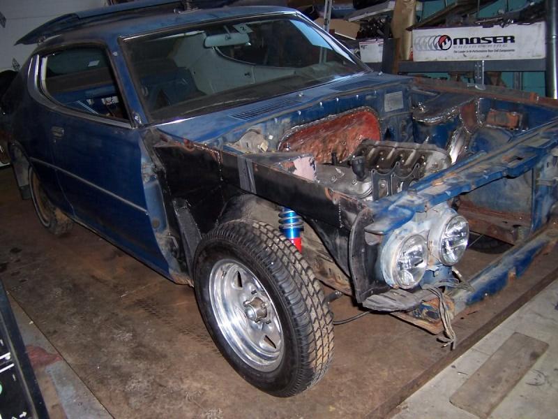 My next LS swap... Datsun16