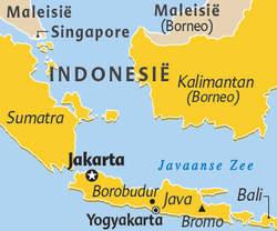 Bali en Java, paradijsjes naast elkaar Kaartj10