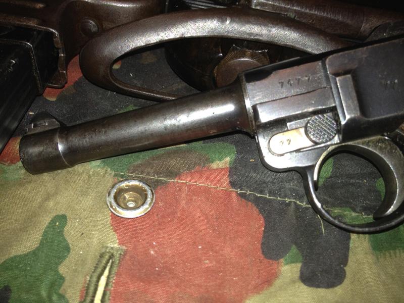 Luger P08 Mauser 1937 1710