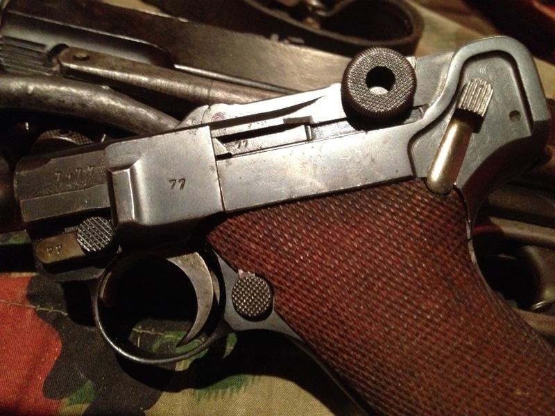 Luger P08 Mauser 1937 1810