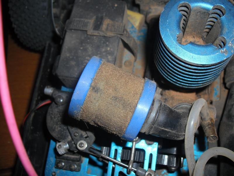 Juju's T2m blitz evo 1 moteur LRP Z.21R Dscf6016