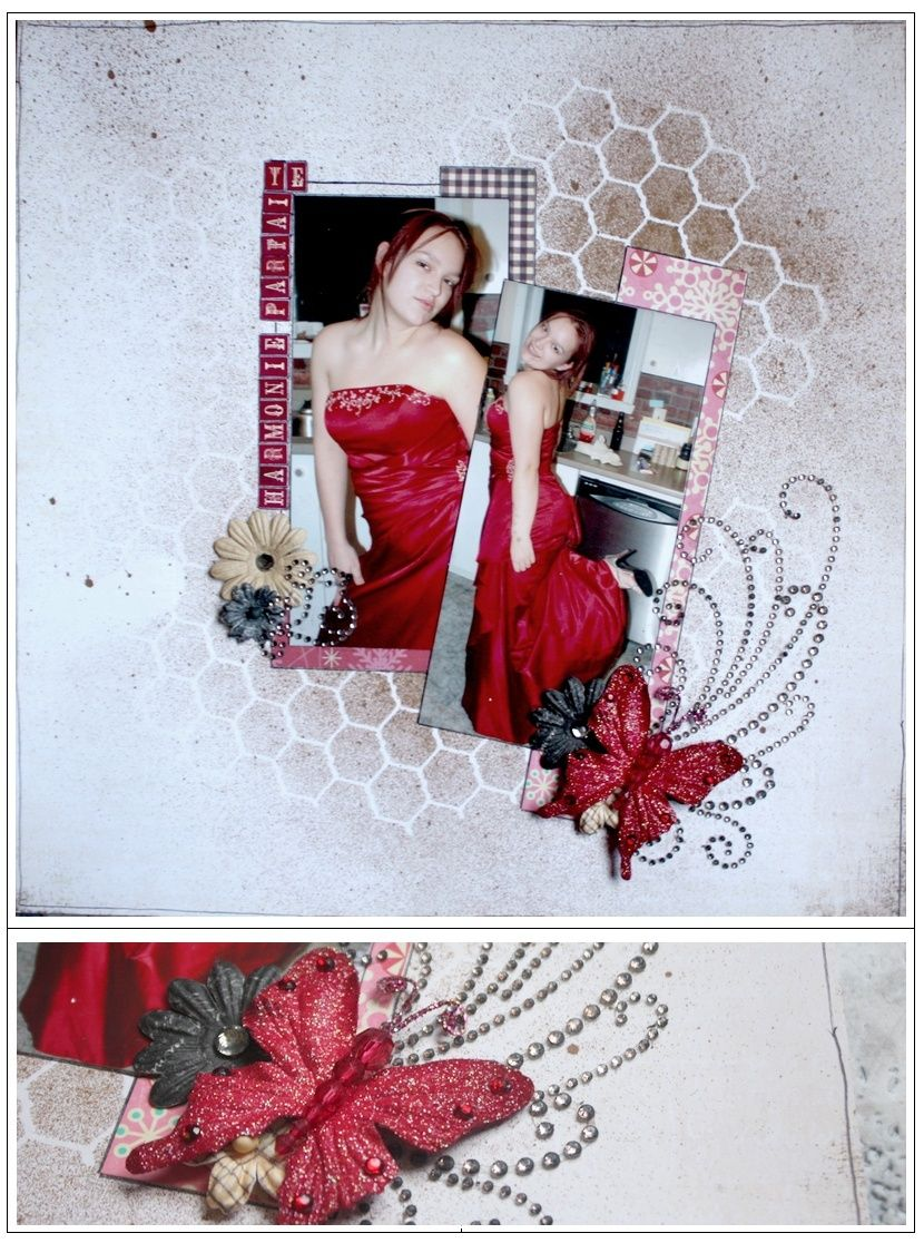 Kit Dt de Décembre - Collage Press Harmon10