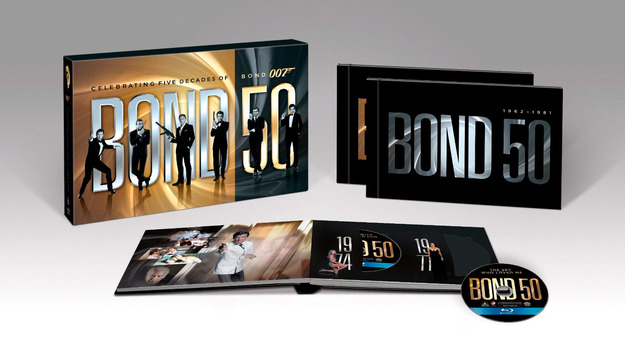 James Bond : Intégrale Edition 50ème anniversaire  Nuevos10