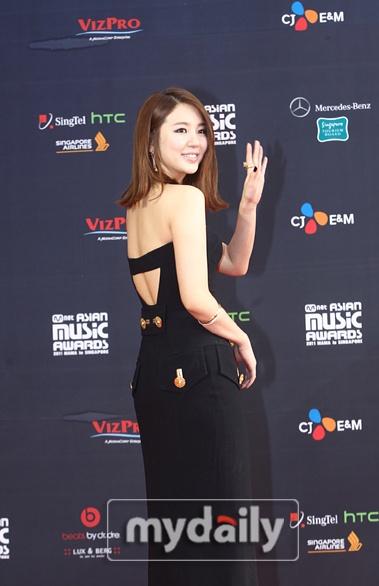 Red carpet - '2011 Mnet Asian Music Awards'--- parte 1 1_bmp22