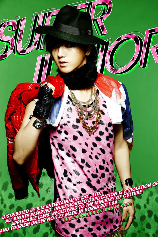 Super Junior-- Yesung's teaser photo comeback 20110729