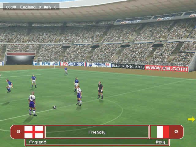 تحميل لعبة Fifa 98 ولعبة Fifa 99 Fifa9811