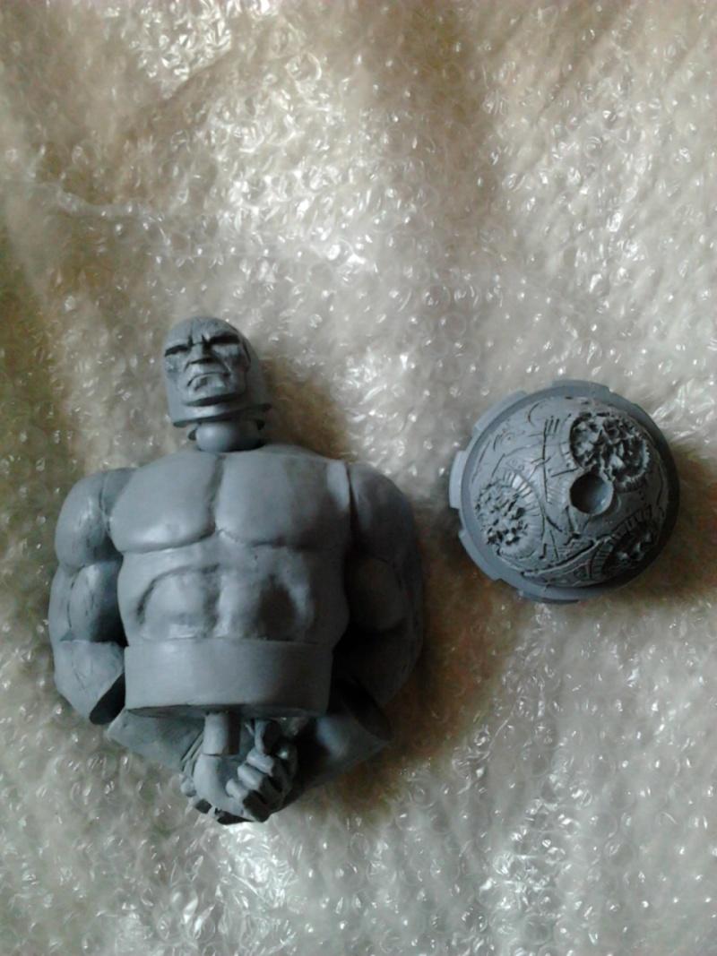 les barbouillages du Khorgan  (bustes Sunturion, Arkon et Daredevil, page 29) - Page 6 Photo027