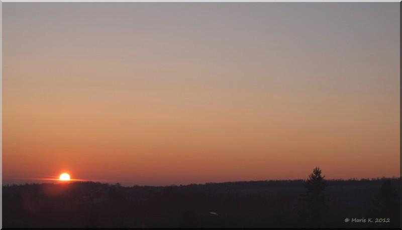 coucher de soleil automnal  P2049615
