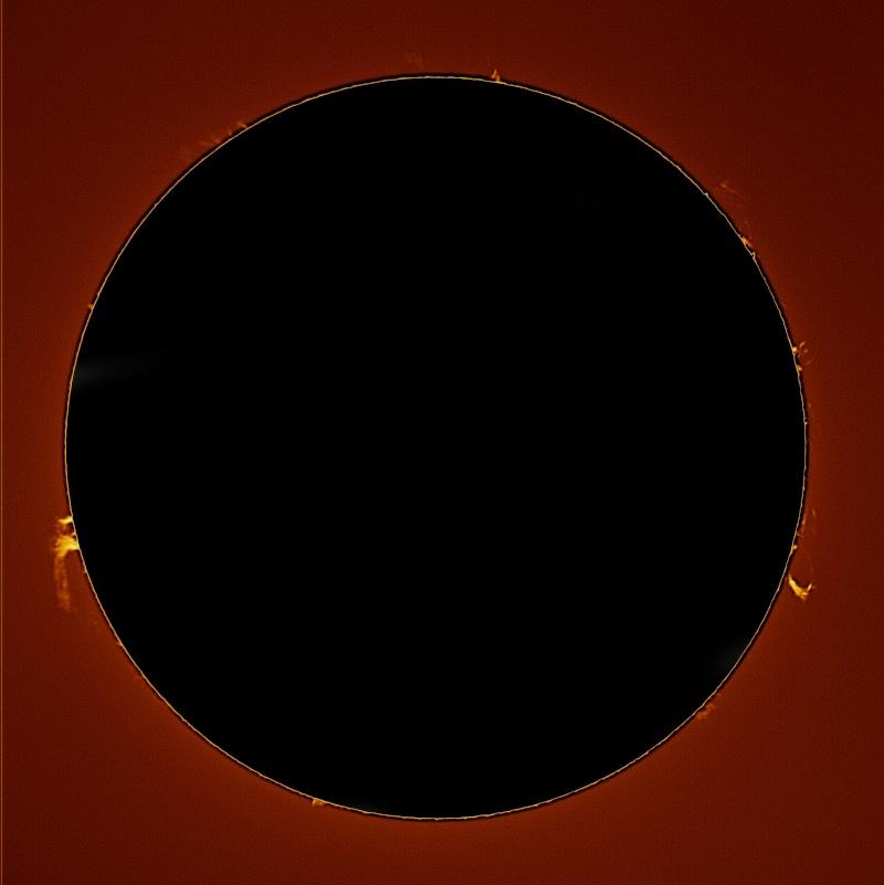 soleil Halpha 22 juillet 2012 Corono10
