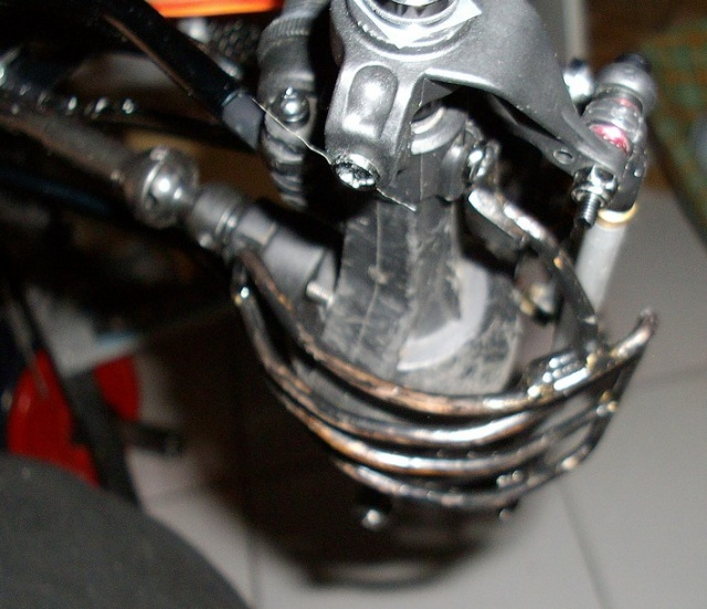 AX-10 chassis tube P0210