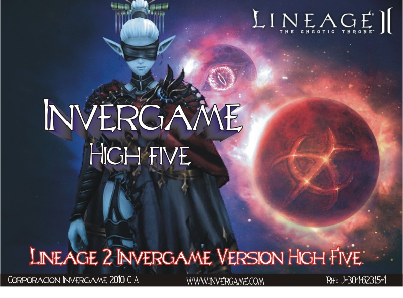 Lineage 2 Invergame Version High Five