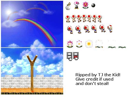 rainbow background[solved] A_rain10