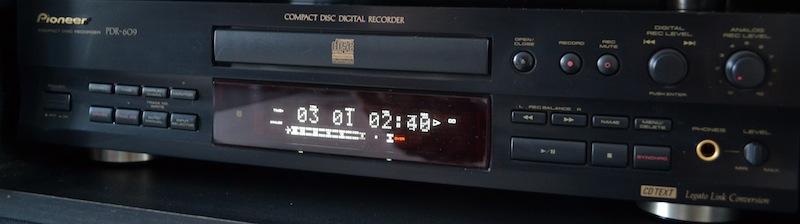 Pioneer PDR 609 Dsc_0010