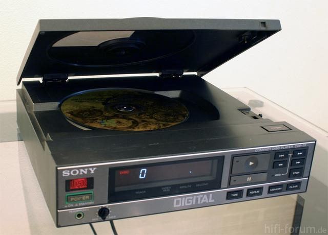 Mini Lecteur CD Sony CDP-7F Sony-c10