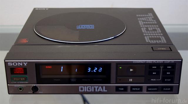 Mini Lecteur CD Sony CDP-7F Sony-c11