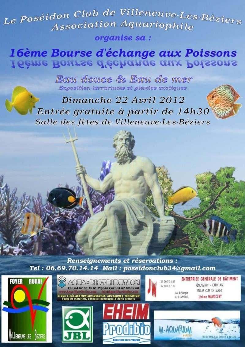 Bourse de Villeneuve les Béziers 34420 le 22 Avril 2012 Affich12